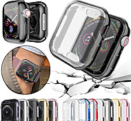 economico -1 pezzi Orologio intelligente Proteggi Schermo Per Apple  iWatch Apple Watch Serie 6 / SE / 5/4 44 mm Apple Watch Serie  6 / SE / 5/4 40mm Apple Watch Serie  3/2/1 38 mm TPU Alta definizione (HD)