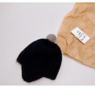 economico -1 pz Bambino / Bambino (1-4 anni) Unisex Attivo Blu Tinta unita Lavorato a maglia Punto roma Cappelli e berretti Nero / Blu / Giallo Taglia unica