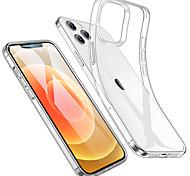 economico -telefono Custodia Per Apple Per retro iPhone 12 Pro Max 11 SE 2020 X XR XS Max 8 7 6 Resistente agli urti Resistente all'acqua Transparente Transparente TPU