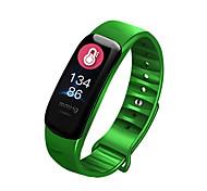 abordables -C1P Montre intelligente avec bracelet pour Android iOS Samsung Apple Xiaomi IP68 Niveau imperméable Imperméable Ecran Tactile Moniteur de Fréquence Cardiaque Mesure de la pression sanguine Sportif