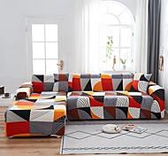 abordables -Housse de canapé Géométrique / Classique / Moderne Teinture Polyester Literie
