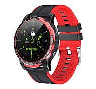 abordables -G21 Smartwatch Montre Connectée pour Android iOS Samsung Apple Xiaomi Bluetooth 1.28 pouce Taille de l'écran IP 67 Niveau imperméable Imperméable Ecran Tactile Moniteur de Fréquence Cardiaque Mesure