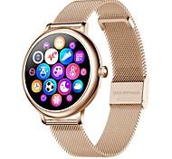 abordables -CF80 Femme Smartwatch Montre Connectée Bluetooth Moniteur de Fréquence Cardiaque Mesure de la pression sanguine Calories brûlées Contrôle des Fichiers Médias Santé Chronomètre Podomètre Rappel