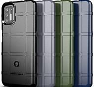 abordables -téléphone Coque Pour Motorola Coque Arriere MOTO G9 PLAY MOTO G9 PLUS Antichoc Couleur unie PC