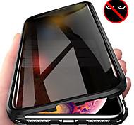 economico -telefono Custodia Per Apple Integrale Custodia ad adsorbimento magnetico iPhone 12 Pro Max 11 SE 2020 X XR XS Max 8 7 6 Resistente agli urti Con chiusura magnetica Transparente Transparente Tinta