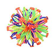abordables -Boules Magiques Arc-en-ciel Sports Famille Amis Amusement Dégradé de Couleur Changement de couleur Plastique souple 1 pcs Enfant Jouet Cadeau