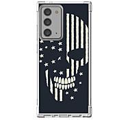 abordables -Crânes Cool Cas Pour Samsung Galaxy S21 Galaxy S21 Plus Galaxy S21 Ultra Modèle unique Étui de protection Antichoc Coque TPU