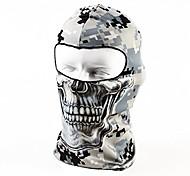 economico -passamontagna tattico teschio moto maschera da sci a pieno facciale, cappello protettivo uv antivento traspirante sottile per donna uomo