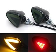 economico -Motocicletta LED Luce di svolta Lampadine 3 W Per Universali Tutti gli anni 2 pezzi