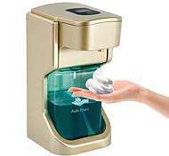 abordables -execart distributeur de savon moussant automatique distributeur de savon sans contact mains libres avec capteur de mouvement étanche pour cuisine salle de bain bureau école or