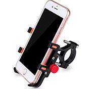abordables -Monture de Téléphone Pour Vélo Anti-Shake Antidérapant Facile à Installer pour Vélo de Route Vélo tout terrain / VTT Cyclotourisme Alliage d'aluminium Cyclisme Noir Rouge Grise