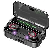 abordables -CIRCE V13 Écouteurs sans fil TWS Casques oreillette bluetooth Bluetooth5.0 Stéréo Avec contrôle du volume Avec boîte de recharge Mobile Power pour les Smartphones Contrôle tactile intelligent pour