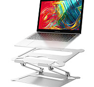 abordables -Support d'ordinateur portable réglable en aluminium Support d'ordinateur portable de bureau multi-angle ergonomique avec ventilation thermique pour ordinateur portable Macbook Dell HP Plus 10-17,3