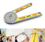 abordables -Rapporteur d'onglet 360 mesure rapporteur d'angle en plastique règle d'angle mesure inclinomètre angle finder jauge outils de travail du bois 72