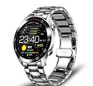 abordables -LG0160 Smartwatch Montre Connectée pour Android iOS Samsung Apple Xiaomi Bluetooth 1.54 pouce Taille de l'écran IP68 Niveau imperméable Imperméable Sportif Calories brûlées Longue Veille Elégant