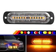 economico -Motocicletta / Auto LED Stroboscopico Lampadine 36 W 12 Per Universali Tutti i modelli Tutti gli anni 1 pz