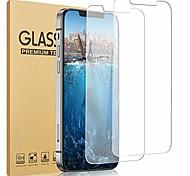 economico -2 pezzi di vetro protettivo per iphone 12 iphone 11 se 2020 8 plus xs max xr protezione dello schermo antigraffio facile installazione vetro temperato per iphone 12 pro max / iphone 11 / iphone x / xs / xr / 8/7 plus