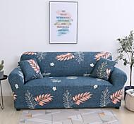 abordables -feuilles impression housse de canapé 1 pièce housse de canapé protecteur de meubles housse extensible douce tissu jacquard spandex super fit pour canapé 1 ~ 4 coussin et canapé en forme de l, facile à