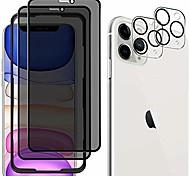 economico -2 proteggi schermo per la privacy + 2 proteggi obiettivo per fotocamera per iphone 12 pro vetro temperato per iphone 11 per iphone 11 pro proteggi schermo anti-graffio anti-spia per iphone 12 mini iphone 11 pro max