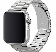 economico -cinturino compatibile con cinturino apple watch 44 mm 42 mm cinturino di ricambio in acciaio inossidabile premium compatibile con apple watch serie 6 5 4 3 2 1, se (argento)