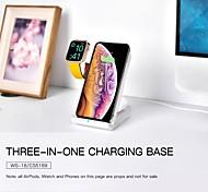 abordables -LITBest 2/5/7.5/10 W Puissance de sortie Chargeurs sans fil 3 en 1 Chargeur Sans Fil Qi Kit Chargeur RoHs CE FCC Pour