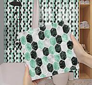 abordables -imitation époxy carrelage autocollant vert foncé cristal mosaïque wall sticker rénovation de la maison bricolage auto-adhésif pvc papier peint peinture cuisine étanche et étanche à l'huile wall