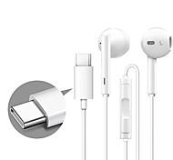 economico -Huawei CM33 Auricolari in-ear cablato USB Tipo C Stereo sweatproof per Apple Samsung Huawei Xiaomi MI Cellulare