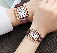 abordables -Mens causal vintage chiffre romain analogique bracelet en cuir noir montre de seconde main calendrier quartz montre carrée litbwat