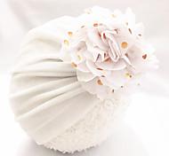 abordables -1pcs Bébé / Nourrisson Unisexe Actif Fleurie Fleur Chapeaux & Bonnets Blanche / Noir / Jaune Taille unique