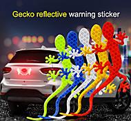 economico -Bianco / Giallo / Rosso Adesivi auto Cartone animato Adesivi per auto / Adesivi chiari Adesivi