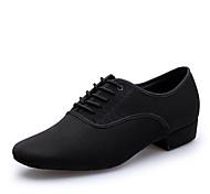 abordables -Homme Chaussures Modernes Talon Talon épais Noir Lacet Adultes