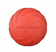 abordables -Jouet de disque volant pour chien, jouet pour chien, soucoupe volante pour animaux de compagnie, jouet à mâcher pour animaux de compagnie en caoutchouc durable pour le plaisir interactif en plein air