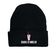 abordables -Inspiré par Cosplay Charli D'Amelio Chapeau Bal Masqué Mélangé polyester / coton Graphique Imprimé Chapeau Pour Femme / Homme