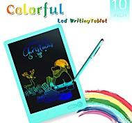 economico -hyd-1003 tavoletta da scrittura lcd portatile da 10 pollici tavoletta grafica per graffiti boogie board tavolette da disegno digitale tavoletta grafica per scrittura a mano scheda elettronica