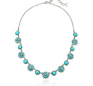 abordables -collier à col turquoise