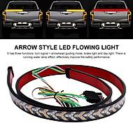 abordables -1 pcs 1.2 m voiture flexible led bande lumière 12 v 48 pouces 120 cm hayon barre lumineuse pick-up remorque feu arrière clignotant lumière inverse frein lumière