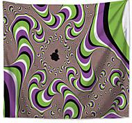 abordables -tapisserie murale art décor couverture rideau pique-nique nappe suspendu maison chambre salon dortoir décoration polyester magie impact visuel dynamique illusion
