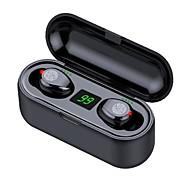 abordables -LITBest F9-8 Écouteurs sans fil TWS Casques oreillette bluetooth Sans Fil Stéréo Avec contrôle du volume Avec boîte de recharge Affichage d'alimentation LED pour Sport Fitness