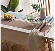 economico -tovaglia in cotone antipolvere classica stampa tabel cover decorazioni da tavola per rettangolo quotidiano # come da foto 1 pz