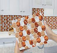 abordables -imitation époxy carrelage autocollant brique rouge cristal mosaïque mur autocollant maison rénovation bricolage auto-adhésif pvc papier peint peinture cuisine étanche et étanche à l'huile mur