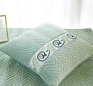 abordables -Housse de coussin lumière de luxe simple couleur pure sculptée courte épissure en peluche bureau à domicile taie d'oreiller couverture salon chambre canapé housse de coussin
