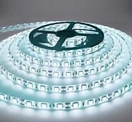 abordables -5m LED Bandes Lumineuses Étanche Flexible Tiktok Lumières 300 LED 2835 SMD 8mm Blanc Chaud Blanc Froid Rouge Bleu Vert Coupe DC 12V IP65 Auto-adhésif