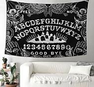 abordables -tapisserie murale art déco couverture rideau pique-nique table tissu suspendu maison chambre salon dortoir décoration polyester fibre nature morte noir et blanc