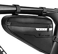 economico -4 L Marsupio triangolare da telaio bici Ompermeabile Portatile Asciugatura rapida Borsa da bici TPU Marsupio da bici Borsa da bici Ciclismo Attività all'aperto