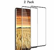 economico -Pellicola salvaschermo s20 ultra da 2 pezzi, riconoscimento delle impronte digitali copertura touch 3d pellicola protettiva per schermo in vetro temperato durezza 9h anti-bolla trasparente per