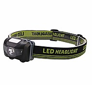 abordables -ajuster la lampe frontale lampe frontale de phare-3w lumière ultra-légère étanche haute puissance avec ceinture tressée élastique élevée, utiliser une lampe frontale pour courir, camping, randonnée