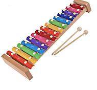 abordables -bois jaune main enfant frapper le piano pour les enfants tous les instruments de musique jouets