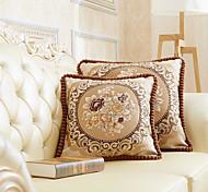 abordables -Housse de coussin style européen palace style rétro précision jacquard de haute qualité taie d'oreiller couverture salon chambre canapé housse de coussin