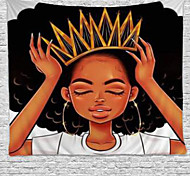 abordables -tapisserie murale art déco couverture rideau pique-nique table tissu suspendu maison chambre salon dortoir décoration polyester fibre nature morte princesse noire