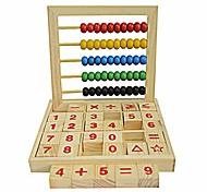 abordables -jouets pour enfants, enfants boulier en bois comptant le nombre de blocs de lettres de l'alphabet jouet éducatif apprentissage& éducation parfait temps amusant jouer activité cadeau pour garçons